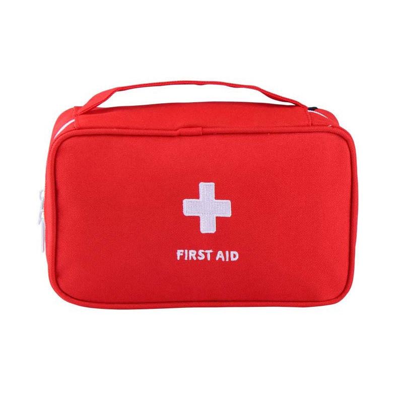 First Aid Kit Bag Portable Travel Medicine Package Emergency Kit Bags Small Medicine Divider Medical Bag Big