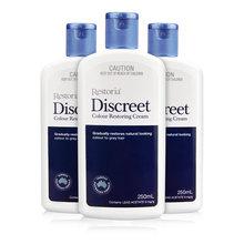 1 pcs Original Restoria Discreet Colour Restoring Cream Lotion Hair Care 250ml Reduce Grey Hair for