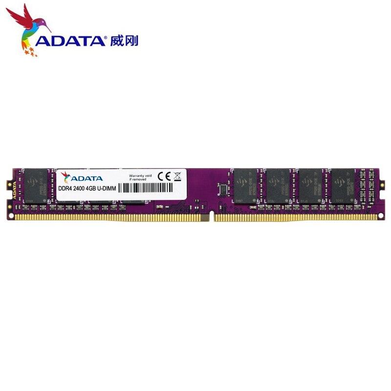 ADATA 1.2V DDR4 2400Mhz 2666Mhz 4GB 8GB 16GB الكمبيوتر حاسوب شخصي مكتبي RAM U-DIMM لعبة الذاكرة الكباش 288Pin PC4-17000 PC4-19200 جديد