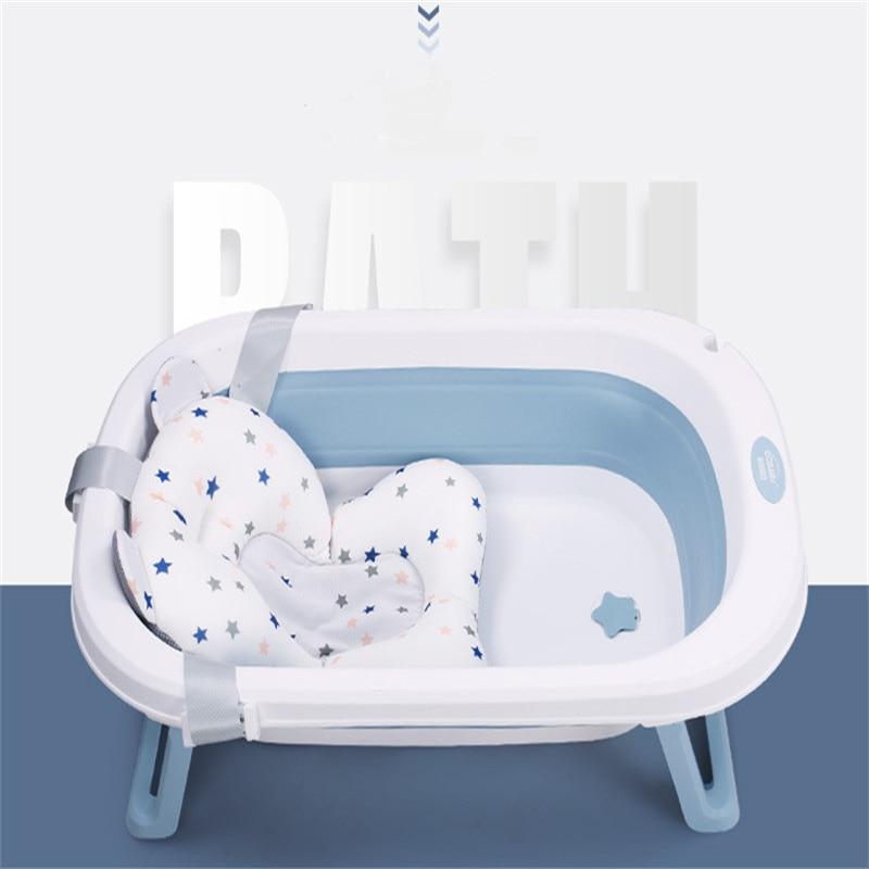 2021  Newest  Baby Bath   Folding Bathtub  Sit and lie Bath Barrel