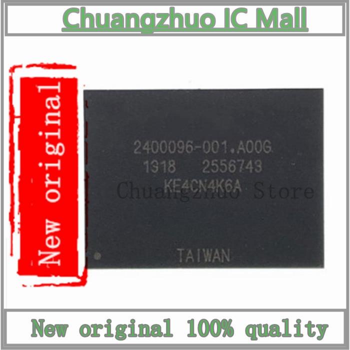 1 unids/lote KE4CN4K6A BGA-169 KE4CN4K6 BGA169 4CN4K6A memoria incrustada EMMC 16GB Flash IC Chip original nuevo