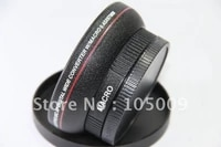 0 45x 67mm Wide Angle with Macro Conversion LENS for 67 mm canon nikon pentax fuji olympus black