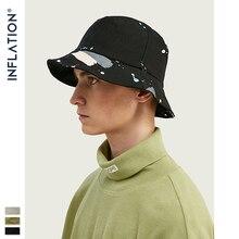 INFLATION 2020 Summer Outdoor Travel Cap Men And Women Sun Hat Cotton Splash Ink Retro Bucket Cap Fisherman Hat 138CI2019