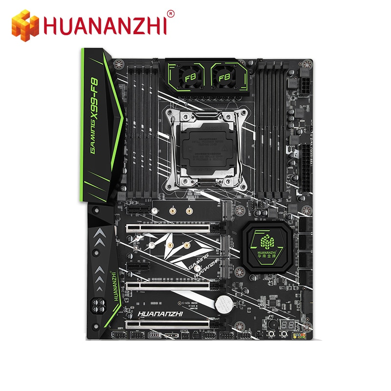 HUANANZHI X99-F8 Motherboard Intel XEON E5 LGA2011-3 All Series DDR4 RECC NON-ECC memory NVME USB3.0 ATX Server workstation ATX