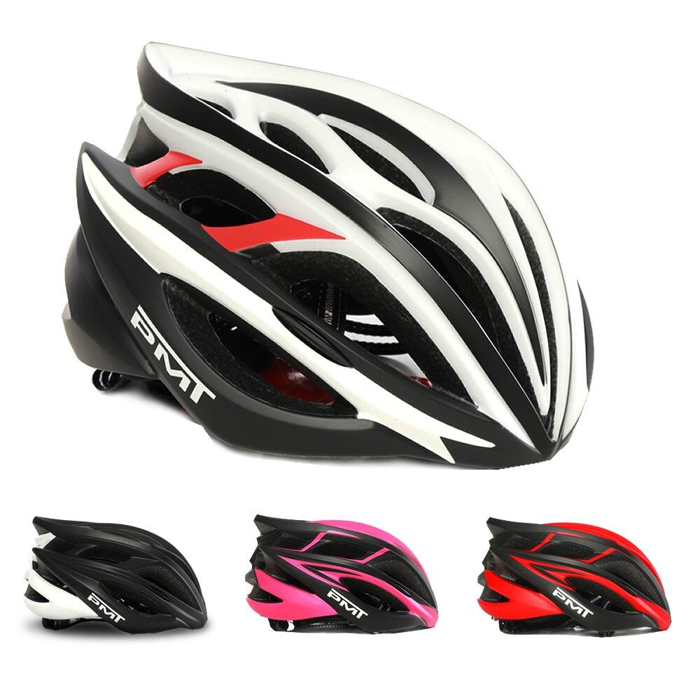 Pmt capacete de bicicleta ultraleve integralmente moldado mtb estrada capacetes ciclismo capacete caschi