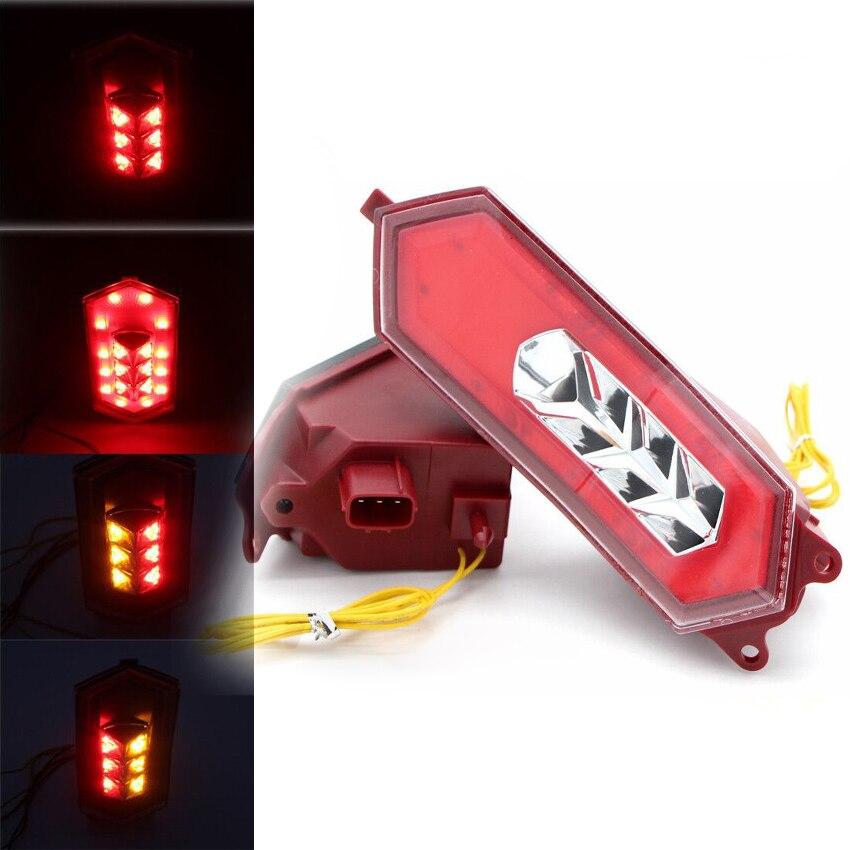 E-Mark Led интегрированный задний фонарь задний тормоз поворотные сигналы для YAMAHA YZF R1 M/S R1M R1S RN32 2015 2016 2017 2018 2019 2020
