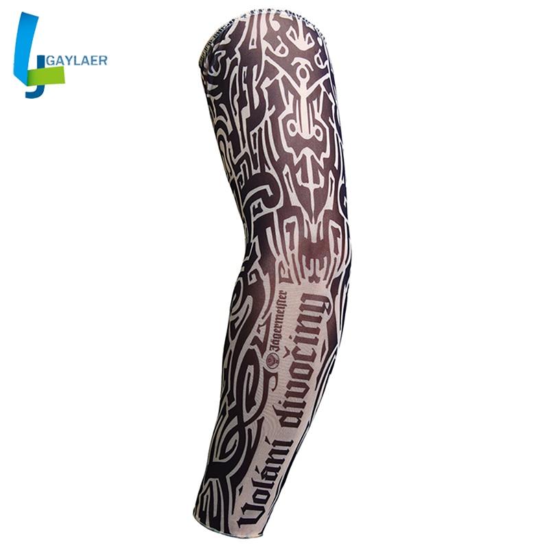 Motorcycle Cycling Sleeves Printed Armwarmer MTB Bike Bicycle Sleeves Arm Warmer UV Protection Sleeves Ridding Arm Sleeve
