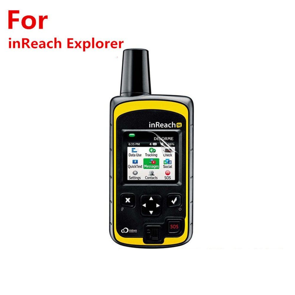 For GARMIN Inreach Explorer Film Sports Watch Accessories With Cleaning Kit