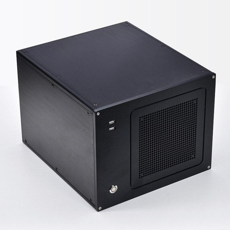 サイズW279 H223 L311 すべてアルミケースプロプロファイルmatxすべてアルミコンピュータケースBZ10A htpcケース