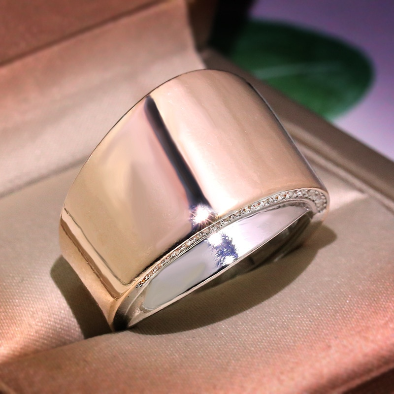 Anillo de diseño de onda de gama alta con personalidad, anillo de confort para mujer, combinación de Color oro rosa 925 de boda, tendencia de joyería, nuevo regalo de vacaciones