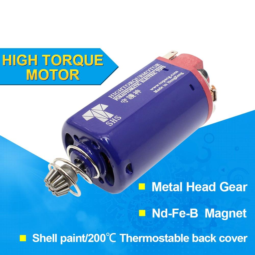 SHS AEG موتور 11.1V 31000 عالية تويست نوع عزم دوران المحرك M90-150 قصيرة المحور AK سلسلة تستخدم ل AEG الصيد اكسسوارات