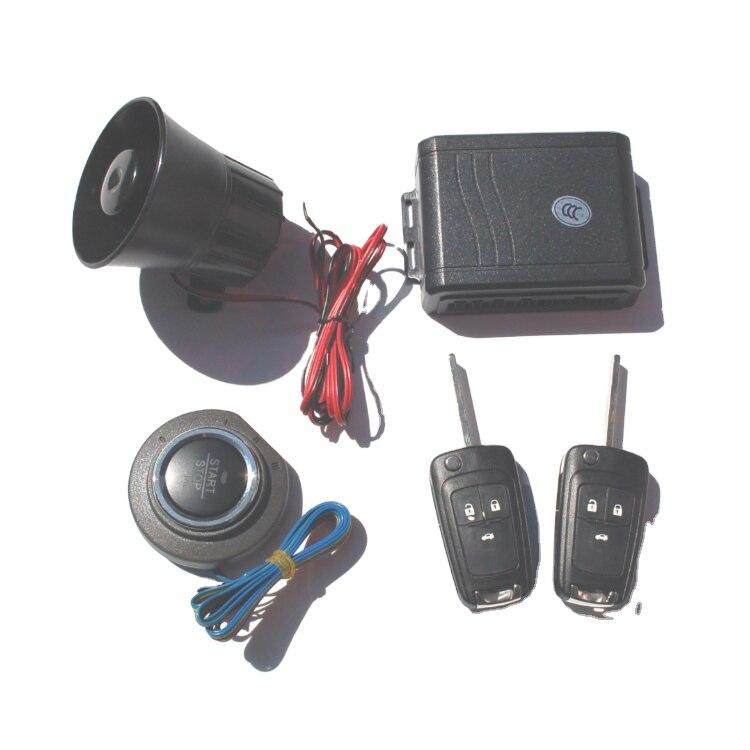 زر بدء التشغيل عن بعد لجهاز مكافحة سرقة السيارة لبدء نظام سلامة السيارة