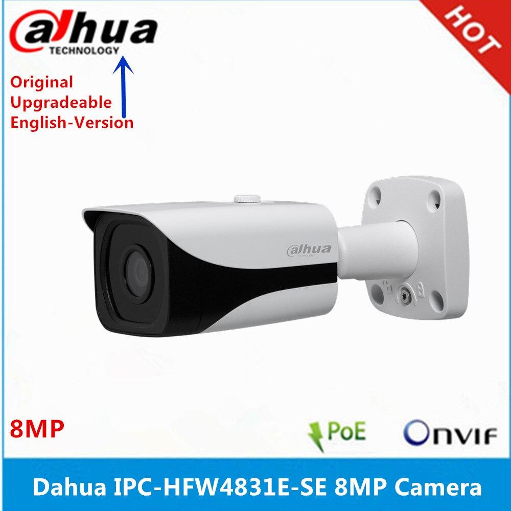 Original Dahua IPC-HFW4831E-SE Ultra HD 8MP ranura para tarjeta sd integrada IP67 IR40M POE 4K cámara IP reemplazar IPC-HFW4830E-S
