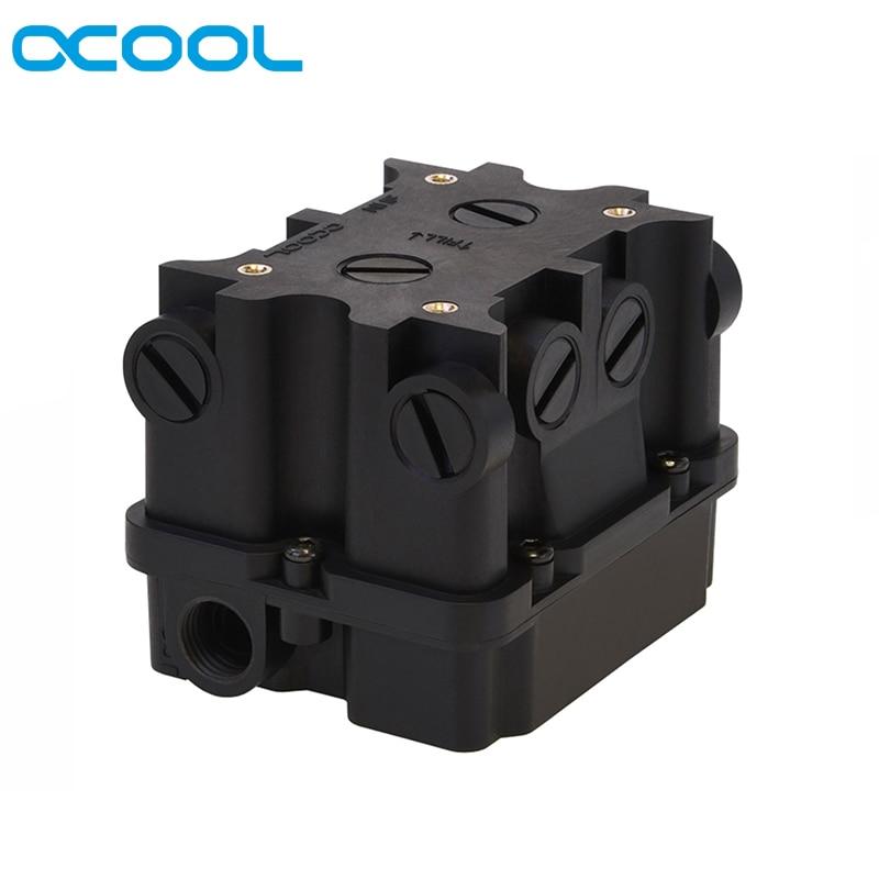 Alphacool ES 1U 2U Reservoir For Liquid Cooling Loop ITX Computer Case,Server Racks And Workstations,Water Tank Support DDC Pump