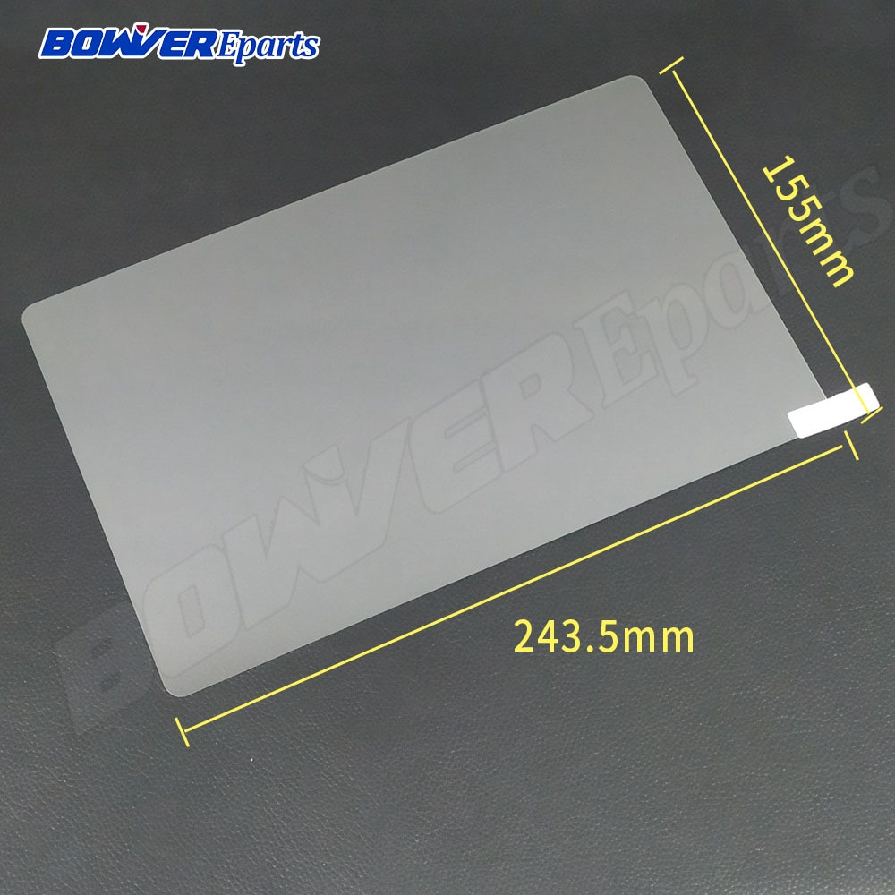 Universal 9H Tempered glass film for 10.1 inch tablet Tempered Glass Screen Protective Film 243.5*155MM/243.5X155MM