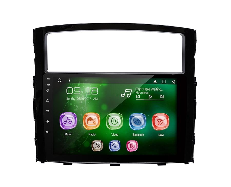 "Allways 9 ""IPS pantalla Android 9,0 octa-core Ram 2GB Rom 32GB coche Multimedia para Mitsubishi Pajero V97 2006-2011 con 2.5D táctil"