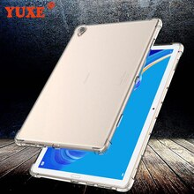 Housse Pour Huawei MediaPad T3 T5 10 9.6/10.1 pouces AGS AGS2-W09 Étui TPU Silicone Transparent Mince Couverture Dairbag Anti-chute