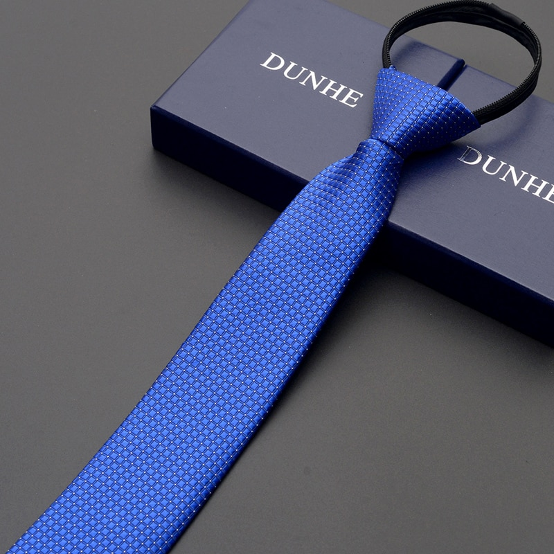 High Quality 2019 New Designers Brands Fashion Business Casual 6cm Slim Ties for Men Leaf Pattern Zipper Necktie with Gift Box