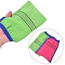 Bath Exfoliating Glove Body Scrub Gloves Bath Shower Scrubber Dead Skin Remover For Men Wome L9304