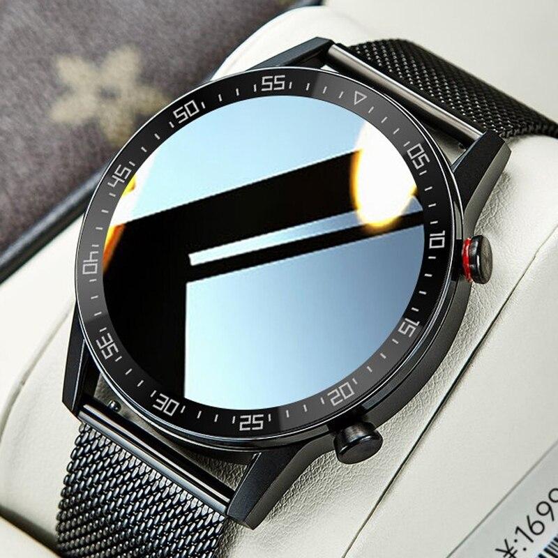 Timewolf Smart Watch Men Android 2021 ECG Full Touch Screen Smartwatch IP68 Smart Watch for Android Phone Men Fitness Tracker