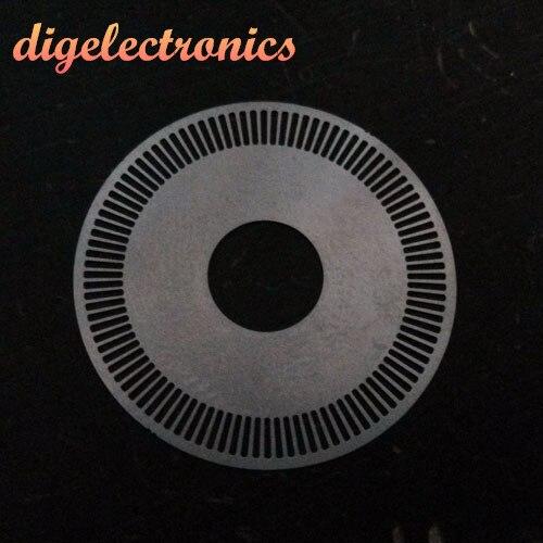Medidor de Sensor de velocidad fotoeléctrico rueda inversor de codificador fotoeléctrico M8 Servo Motor rejilla disco Robot velocidad disco de medición
