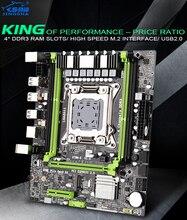 X79 motherboard JINGSHA X79M-S 2.0 LGA2011 M ATX USB2.0 PCI-E NVME M.2 SSD support REG ECC memory and Xeon E5 processor