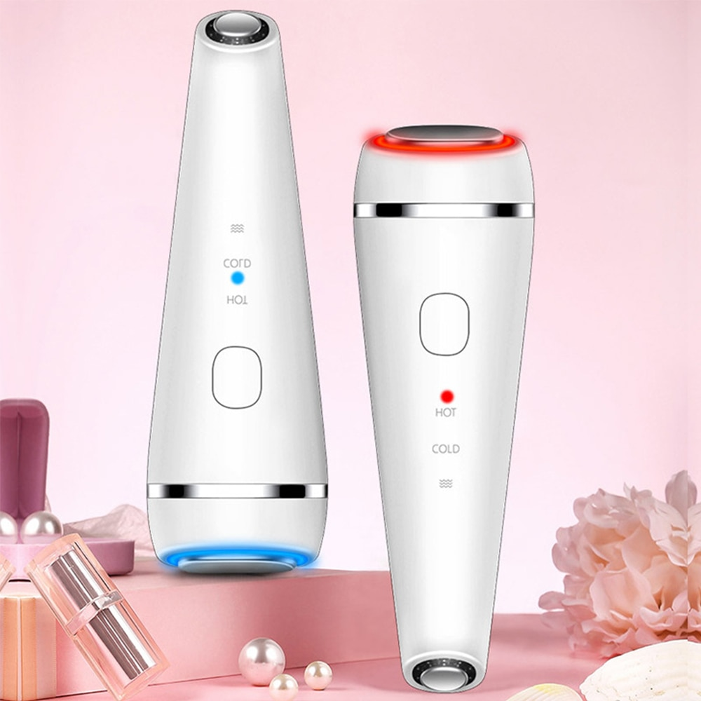 Electric Eye Face Massager Introduction of Hot and Cold Beauty Instrument Vibration Massage Essence Anti-Ageing Eye Wrinkle