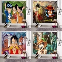 anime series tapestry one piece background cloth hanging cloth custom wall cloth art decorative wall hanging tapestry