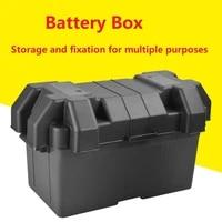 car rv boat marine smart battery box usb car charger power guard w strap for car truck boat trailer rv power guard