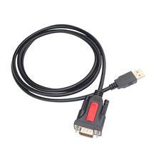 Usb Naar Rs232 Adapter Prolific Pl2303 Chipset Usb 2.0 Naar Rs232 9 Pin Male Db9 Seriële Converter Kabel Voor Windows linux Mac Os