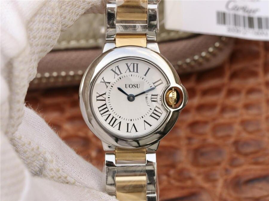 UOSU AAA Luxury Watch 28.6mm Ladies Quartz Replica Watch W69007Z3  watch for women