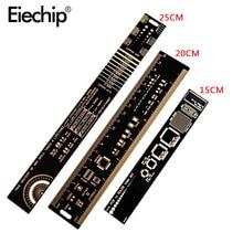 15cm 20cm 25cm PCB Ruler Multifunctional Measuring Tool Resistor Capacitor Chip SMD Diode Transistor Package Diy Electronic Kit
