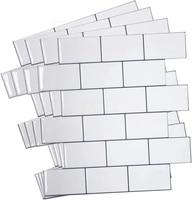 3d mosaic tiles sticker waterproof heatproof self adhesive vinyl wallpaper peel and stick wall decal for kitchen bathroom wall