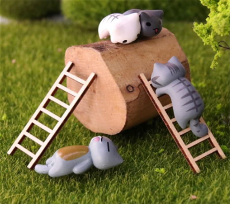 2 uds hadas miniaturas casa de muñecas para el jardín juguetes Mini Caracol Micro maceta paisaje bonsai accesorios ornamentos figurita decorativa