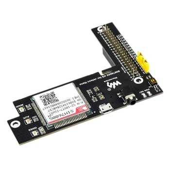 Waveshare SIM7600G-H 4G/3G/2G Expansion Module For Jetson Nano GNSS Positioning GPIO 40Pin Interface
