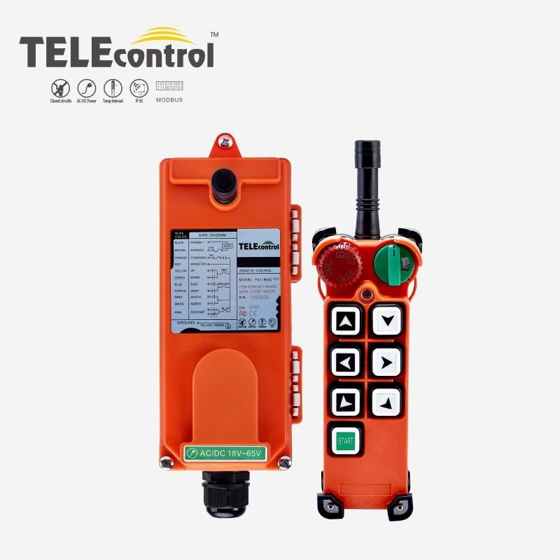 Telecontrol UTING F21-E2 תעשייתי שלט רחוק עבור קריין לגנוב