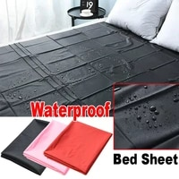 new pvc plastic adult sex bed sheets sexy game waterproof hypoallergenic mattress cover full queen king bedding sheets