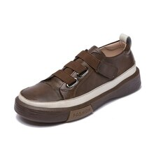 AIYUQI Ladies Sneakers Spring Shoes 2021 New Genuine Leather Casual Women Shoes Large Size 42 43 F