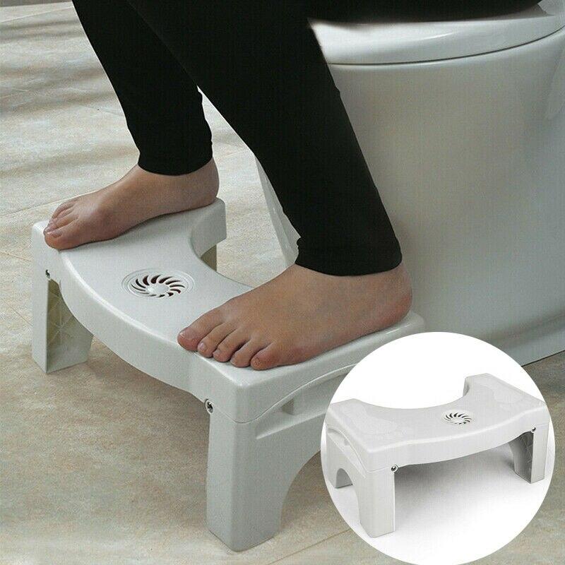 1Pc baño squatty taburete de paso de urinal de baño nada ayuda para el estreñimiento sillas de baño