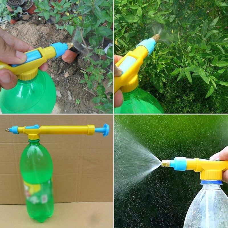 Pistola de agua, cabezal de rociador de riego para jardín, agua a presión, riego, pulverización, herramienta de jardín al aire libre, boquilla pulverizadora Simple creativa