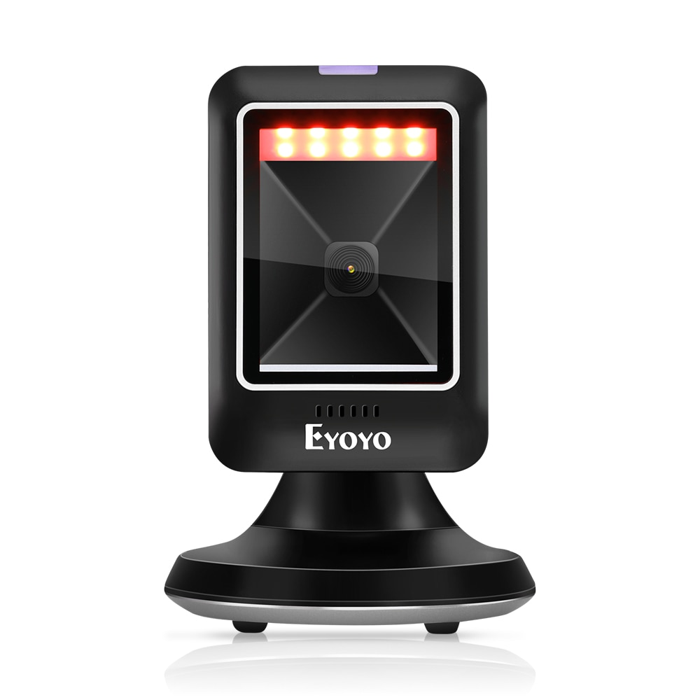 EYOYO Handheld QR Barcode Scanner Portable Wired 1D 2D USB Bar Code Reader For Windows DataMatrix 2D Code Scanner PDF417 Reader