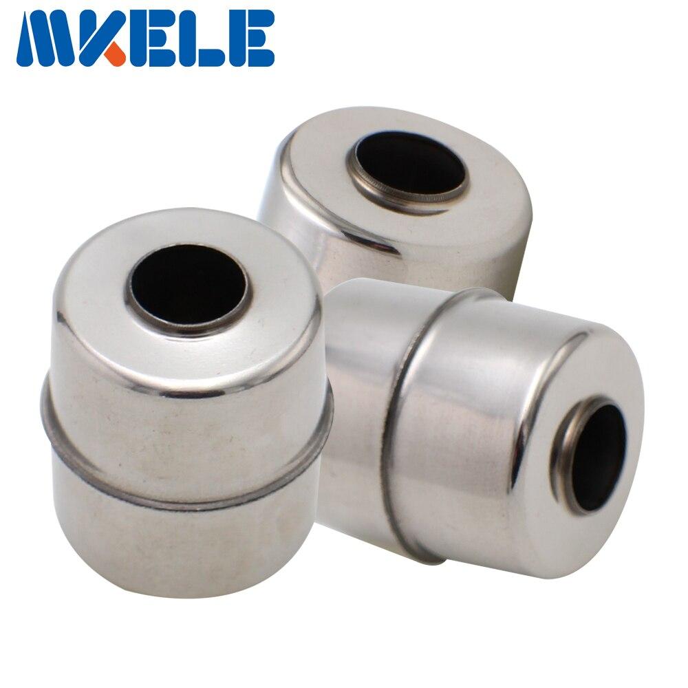 Mk-25*28*9.5 bola magnética de aço inoxidável do interruptor nivelado líquido do flutuador/bola flutuante acessórios sensor de fluxo de água