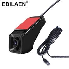 Ebilaen Auto Dvr Dash Camera Met 16 Gb Geheugenkaart Full Hd 1080P Voor Ebilaen Android 8.1 Auto Multimedia speler Radio