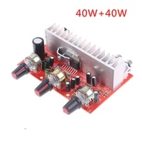 Panneau damplificateur Audio numerique TDA7377  40w x 2  amplificateur stereo a double canal pour Home cinema  1 piece