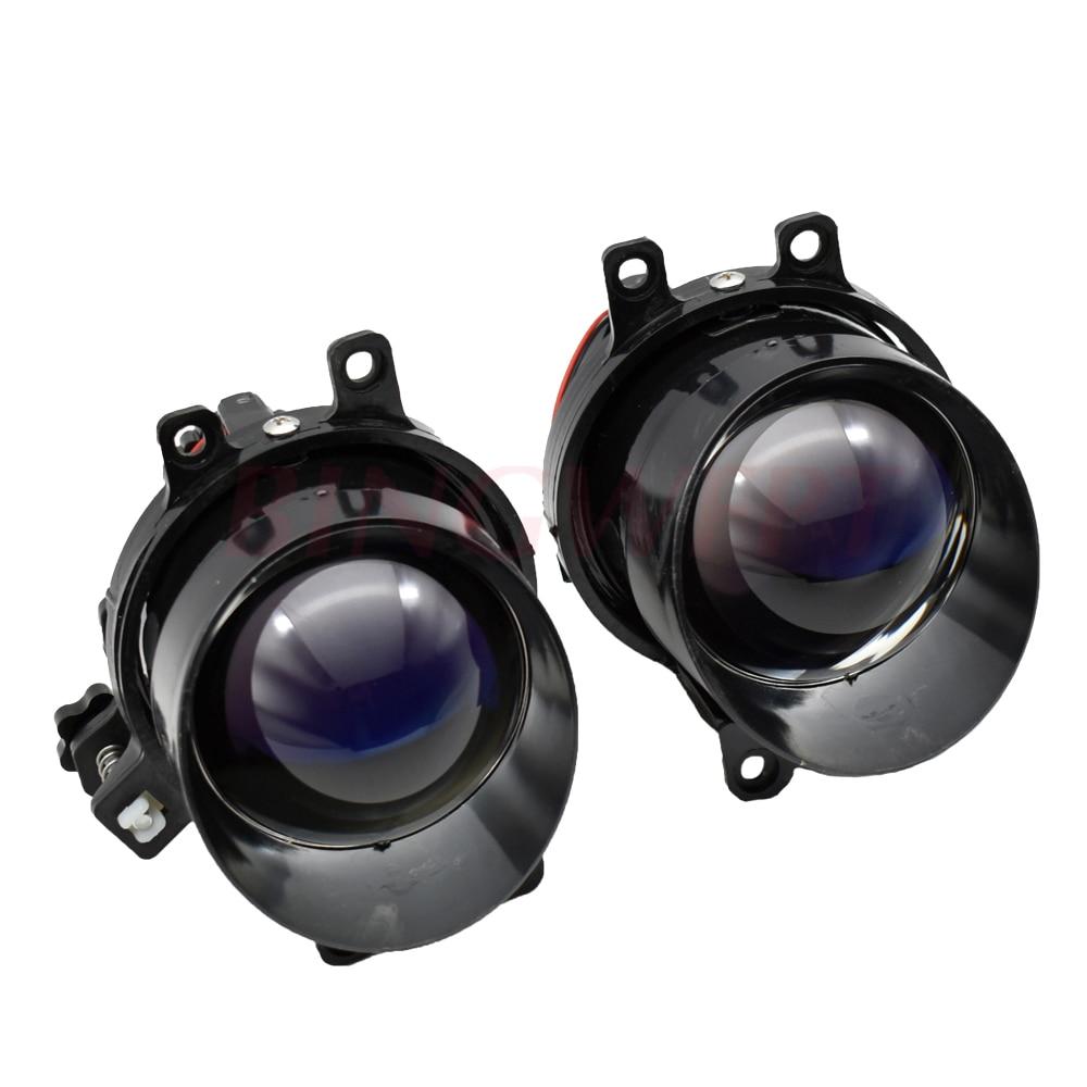 3.0 Waterdichte Bi-Xenon Mistlampen Lens Lampen Hi/Lo H11 Hid Xenon Voor T Oyota/corolla/Camry/L Exus Auto Retrofit Vervanging