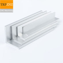 Lien personnalisé, 5*10*1 430mm, profilé en aluminium à Angle droit en alliage daluminium en forme de L en aluminium 6061,