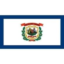 90x150cm us usa state West Virginia flag