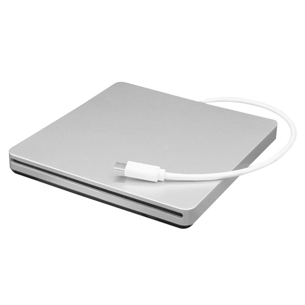 Unidad óptica móvil Tipo portátil C, CD DVD RW, grabador de unidad con ranura externa para ordenador portátil, escritorio y Notebook