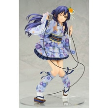 New arrival 21CM pvc Japanese anime figure love live Sonoda Umi kimono dressing action figure collectible model toys