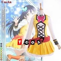 anime lovelive sonoda umi cosplay costume sunny day song lovely sj uniform activity party role play clothing custom make any